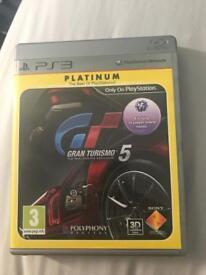 Gran Turismo 5 (Platinum edition) for PS3