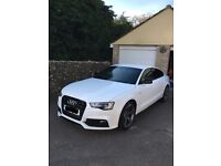 Beautiful Audi A5 Huge specification 2.0Ltr Fastback four doors