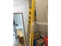 2.72m platform Lyte Ladder 10 tread great condition was £165