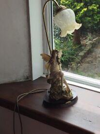 Beautiful Victorian style lamp .