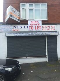 Retail Unit Office/Shop To Let A1/A2 Use Leeds 8