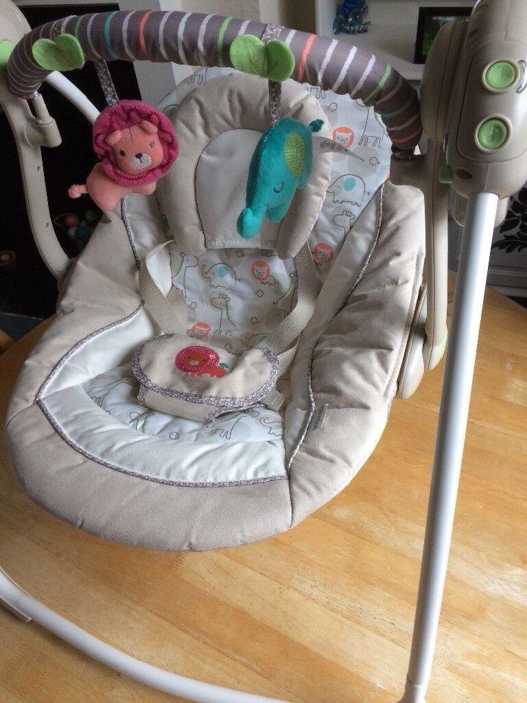 Ingenuity baby swing in as new condition   in Mapperley ...
