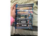 16 blu-ray DVD's
