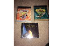 3 cdi Zelda games rare rare
