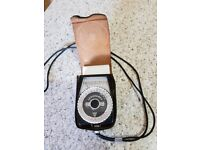 Vintage Leningrad exposure meter