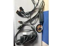 Xbox 360 Cables, HDD 60GB, Games