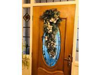 DOOR HANGING SILVER DECORATION