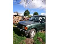Land Rover Disco MOT Aug 2017, good runner for age, genuine low mileage, engine gearbox body good