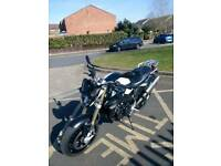 BMW F800R,2015,NEW MODEL,AKRAPOVIC, 6800 MILES,TOURING PACK