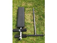 Body-Solid Pro style, ab board, adjustable, sit up bench