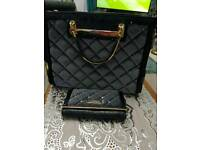 River Island handbag and purse