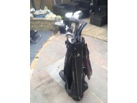 17 Golf clubs inc. putters and recovery wood ideal starter set