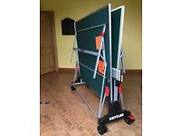 Kettler Stockholm GT Indoor Table Tennis Table - Full Size, Excellent Condition