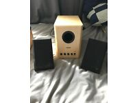 2x computer speakers for subwoofers