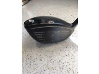 Cobra King F6 driver Stiff Shaft Adjustable from 9 to 12 degrees with 3 draw settings