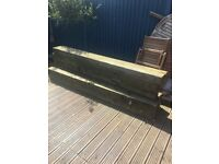 Reclaimed Wood Railway Sleepers - Perfect for Garden Landscaping
