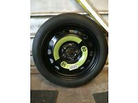 VW Spacesaver Wheel & Tyre. Golf Mk5 and others