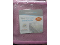 Breathable Baby Mesh Cot Liner