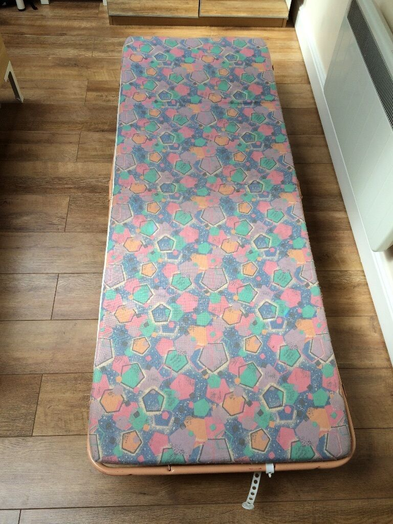 Guest Bed Folding Single With Mattress Great Alternative To Air Barely Used