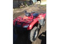 Honda trx 420 farm quad. 2010.