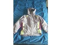 Girls Trespass ski jacket 7/8 years