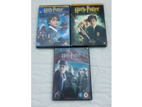 Harry Potter DVDs - Set of 3