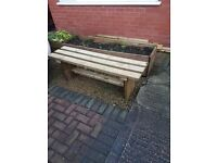 Brand New TIMBER BENCHES 1200mm delivered