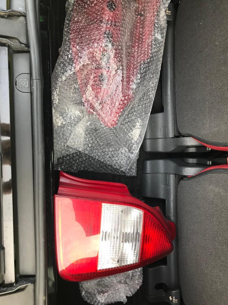 Citroen c2 rear lights and radio