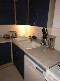 Kitchen - Complete Units with work surface, sink and gas cooker