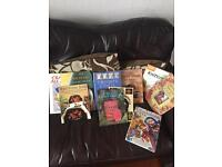 A range of different art and craft books