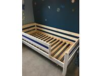 Thuka wooden children's beds (two priced separately)