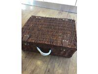 Full set wicker picnic basket