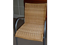 Wicker/Rattan type chair
