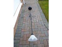 Standard Lamp Black 6ft high