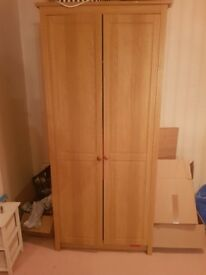 2 wardrobes matching set