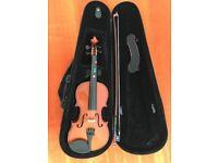 Kid violin half size