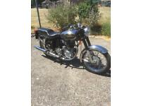 Royal Enfield 350 bullet India swap px rigid BSA matchless Ajs ex ww2 bike