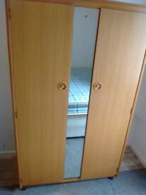 Schreiber Double wardrobe with central mirror