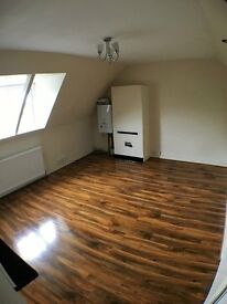 Two Double Bed attic flat available to let.
