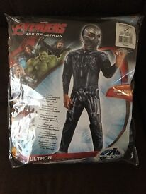 New Avengers Ultron dressing up outfit age 8-10