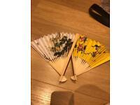 45 x Chinese Fan (wedding favours)