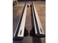 Thule WingBar 961 aluminum load bars roof rack