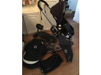 Bugaboo Frog with bassinet & accessories