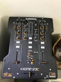 Allen and Heath Xone 23 C DJ Mixer