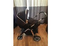 Silvercross Pioneer Travel System inc Car Seat, Changing Bag and Seat Liner **REDUCED**