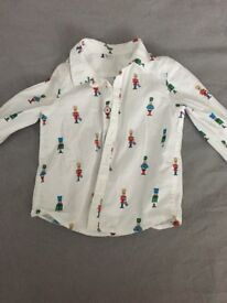 Age 1 1/2 - 2 marks and Spencer's shirt