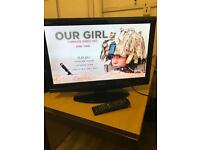 21 inch sharp tv with DVD player built in