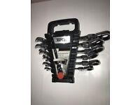 New 7 Piece Torq Flexible Head Ratchet Combination Spanner Set 8 - 19mm