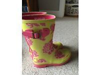 Girls Joules Wellies