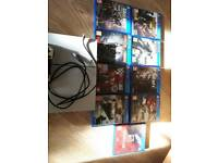 500gb with controller 9 games £190